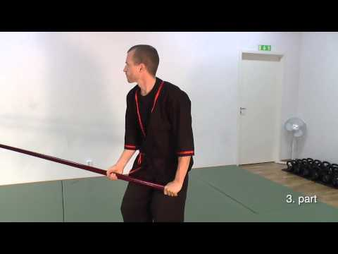 Wing Tsun Luk Dim Boon Kwun Form - slow motion training sequence - Pole Form Image 1