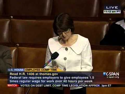 Cathy McMorris Rodgers Goes to the House Floor on the Working Families Flexibility Act