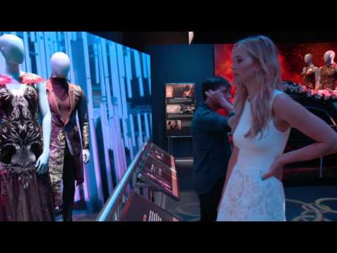 B-Roll Footage - The Hunger Games Exhibition [HD]