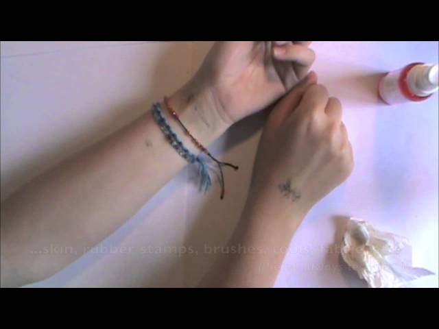 How to Remove a Temporary Tattoo -- Easy & painless!