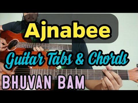 Download  Ajnabee | Bhuvan  Bam | Easy Guitar Chords & Tabs Lesson | 2019 Gratis, download lagu terbaru