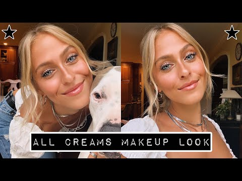Download Lagu  All Cream Products Makeup Look || Natural & Glowy ☆ Mp3 Free