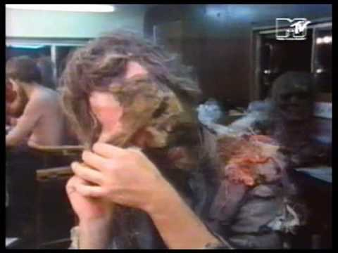 making of the thriller video/ michael jackson part 1