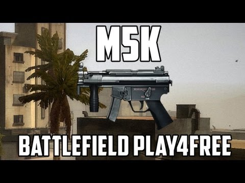 Battlefield Play4free M5K Gun Review