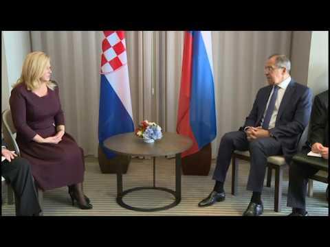 Беседа С.Лаврова и К.Грабар-Китарович