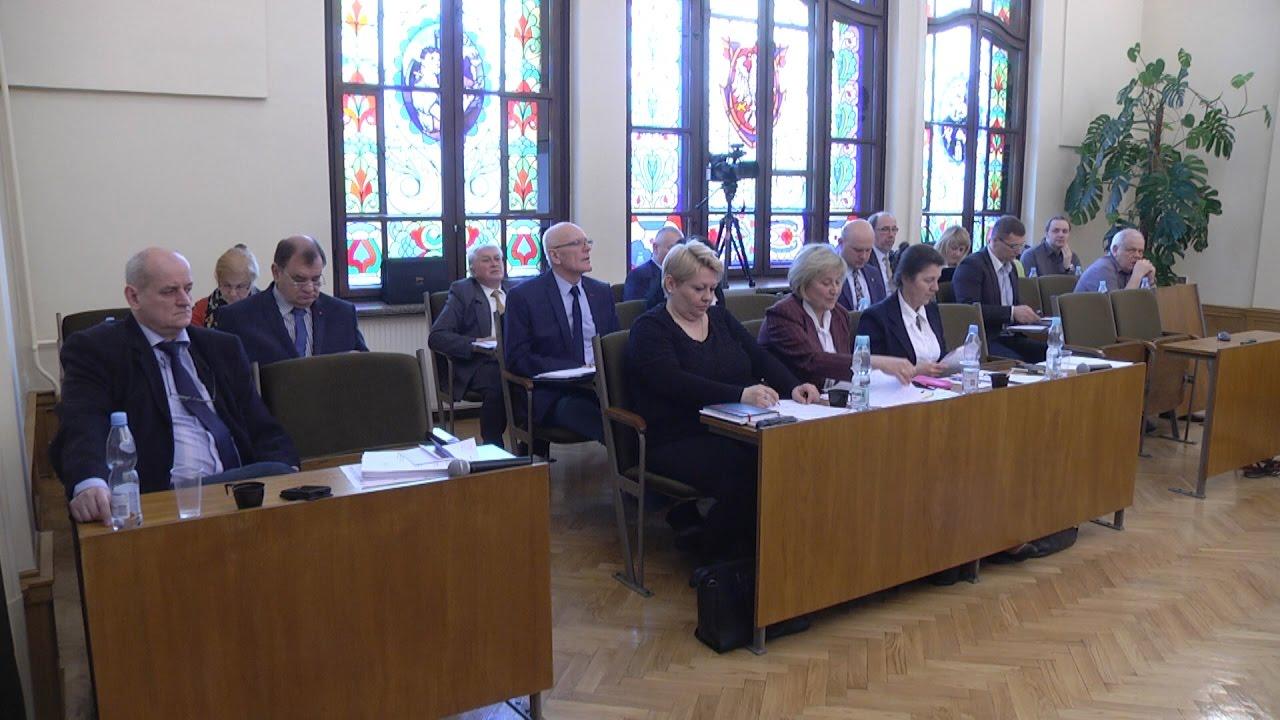 XXXIII sesja Rady Miejskiej, część I
