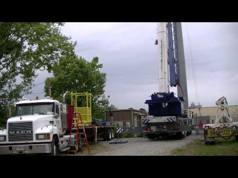 Southway Crane and Rigging 180ton Mobile Crane Setup