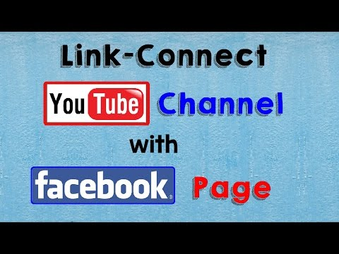 How to Link Connect YouTube Channel With Your Facebook Page (YouTube TRICKS) Facebook Tricks