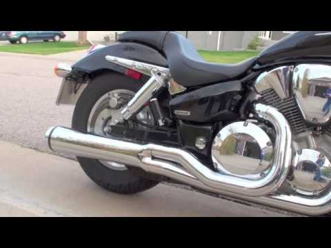 honda vtx  road burner dg velocity pro exhaust youtube