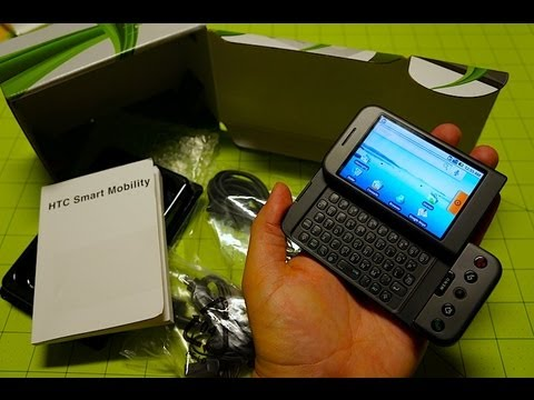 Throwback Unboxing: HTC Dream/G1