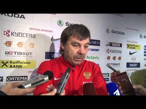 Олег Знарок - о своей дисквалификации на финал ЧМ в Минске