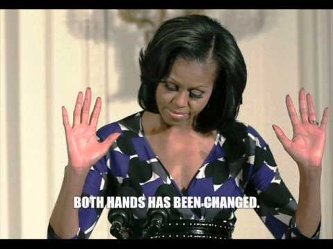 Photo Shop Revealed- Michelle Obama Is A Transvestite