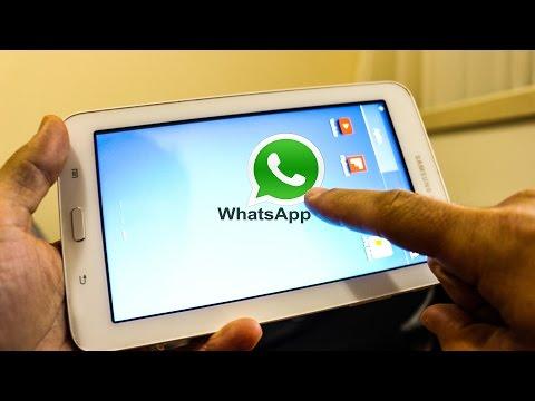 Como Instalar WhatsApp no Tablet sem Chip-Fácil e rápido