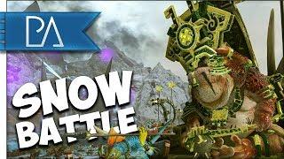 INTENSE BATTLE OF FROZEN FIELDS - Total War: Warhammer 2 Gameplay