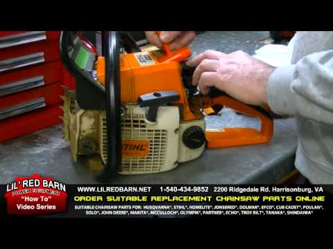 How to Do a Tune Up on a Stihl 021 023 025 Chainsaw