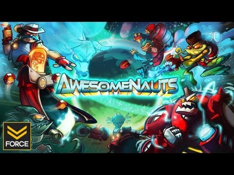 AwesomeNauts PC (Gameplay)