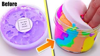 EXTREME SLIME MAKEOVER! Can I Create The BEST Rainbow SLIME??