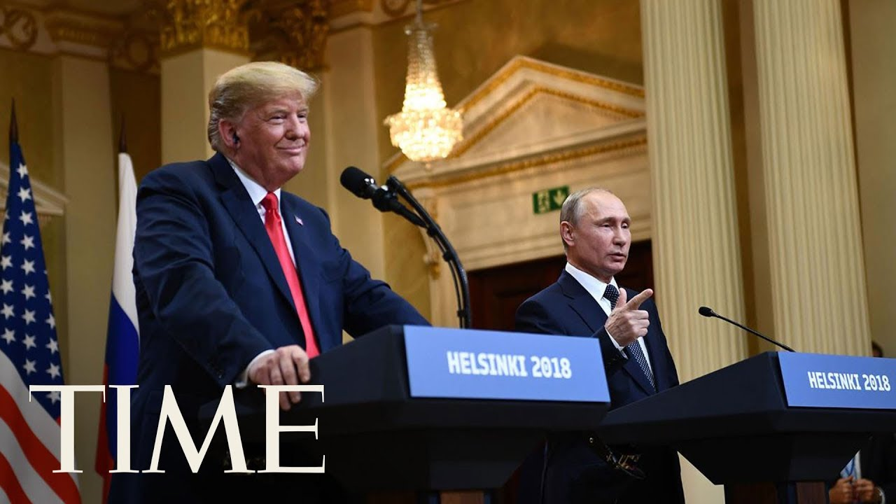 President Trump And Vladimir Putin Denied Russian Meddling In The 2016 Election | TIME