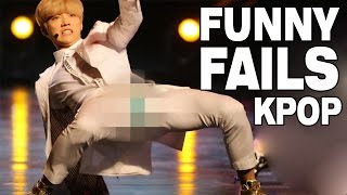 TOP SPECTACULAR KPOP FAILS