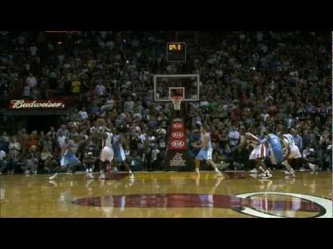 Ray Allen's Game-Winning 4-point play!