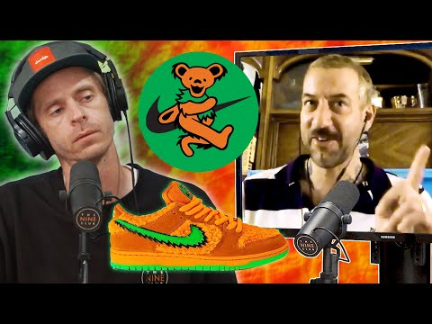 Brian Anderson Skated In The Nike SB Grateful Dead Dunks?!