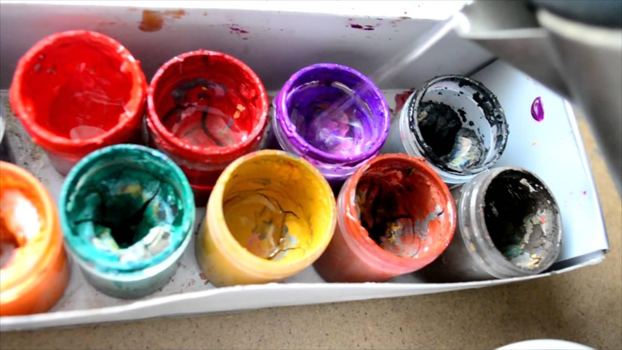 Как сделать краску по гуще 182