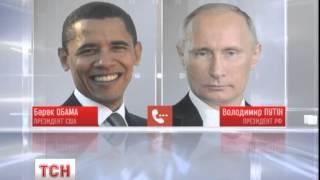 Обама по телефону попередив Путіна про наслідки агресії Росії в Україні - : 0:36