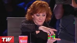Rubik's Cube Magician   That SHOCKED Simon Cowell   on America's Got Talent