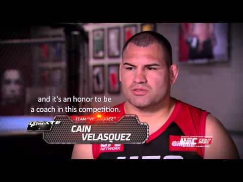 The Ultimate Fighter Latin America Coach Cain Velasquez