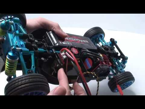 RC ADVENTURES - BRUSHLESS TOURING DRIFT CAR-PT #6 TAMIYA TT01 R KIT CUSTOM KIT