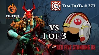 Grim Stroke 7.19d | TG vs Red Five Captains Draft | Tim Dota 373