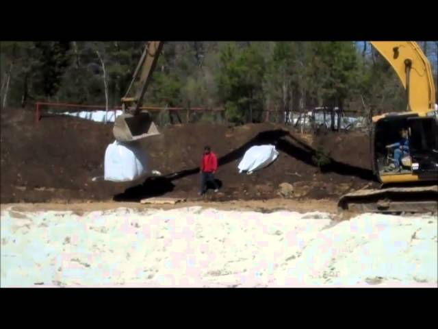 How to: Construction of a pond at Deer Lake Cabins in Texas