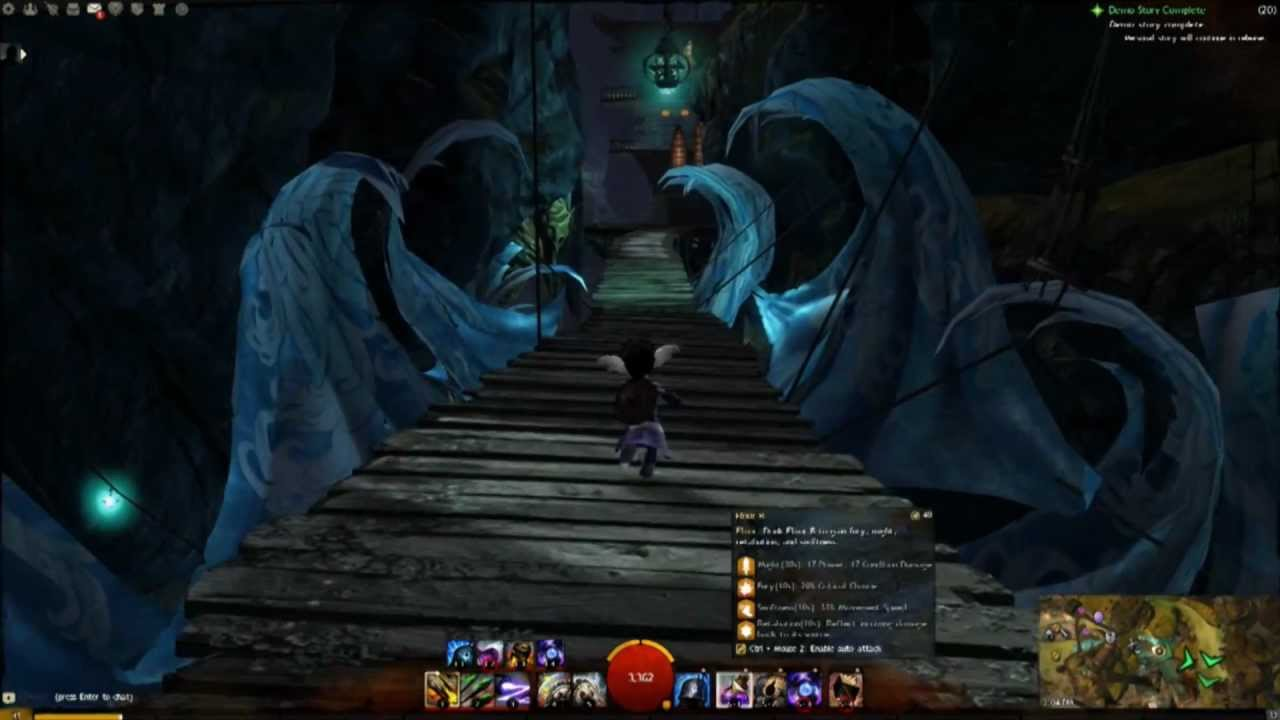 Guild Wars 2 New Updated Lions Arch Secret Hidden Area Troll Garden Jumping Puzzle Youtube
