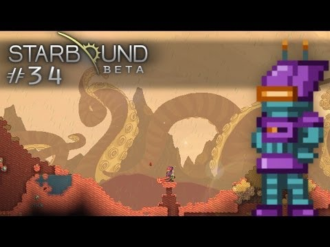 Scythe Plays Starbound - S1E34 - Tentacle Planet in Sector X (Let's Play Walkthrough)
