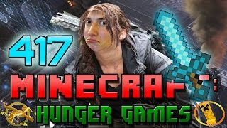 Minecraft: Hunger Games w/Mitch! Game 417 - Diamond Sword In Outerspace!