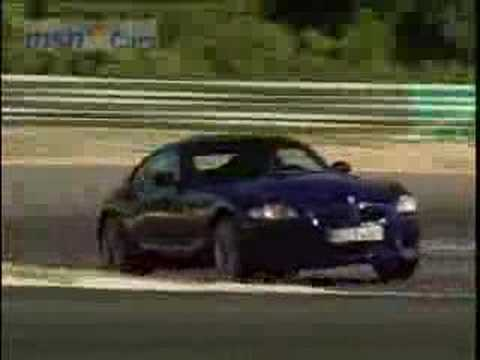 BMW Z4 M Coupe roadtest Video