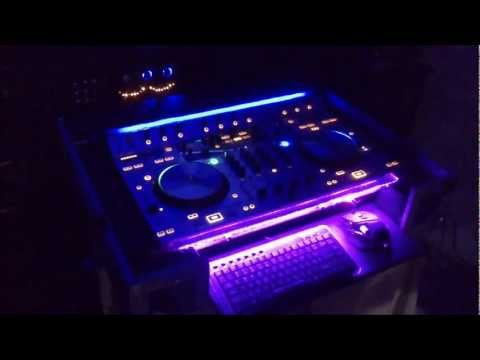 Numark 4trak Home made Flight case/ road case/ dj coffin (with LED)