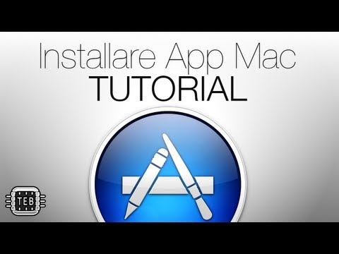 Installare/Disinstallare App Mac: TUTORIAL BASILARI