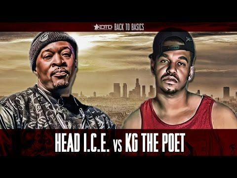 KOTD - Rap Battle - Head I.C.E. vs KG The Poet