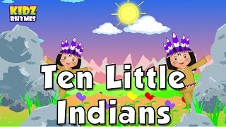 Ten Little Indians | Nursery Rhymes | Popular Nursery Rhymes