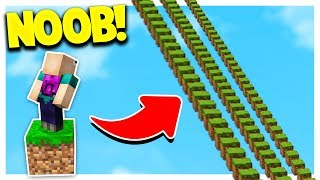 NOOB vs 4,000 MINECRAFT PARKOUR JUMPS!