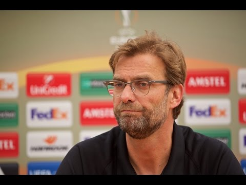 Jurgen Klopp press conference ahead of West Brom and Sevilla