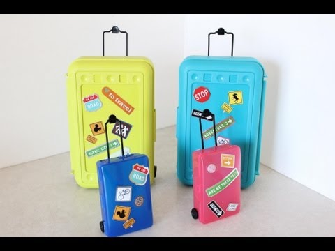 How to Make Doll Luggage   Suitcase   Plus Darbie Show Beginnings
