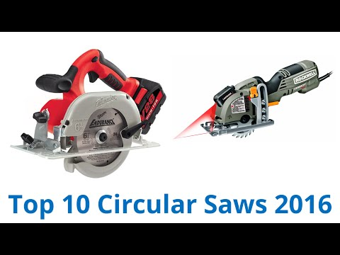10 Best Circular Saws 2016