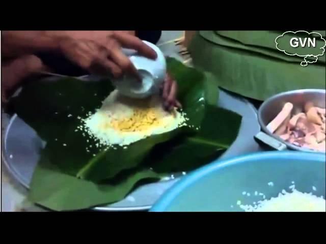 [Guide Voyage Vietnam] - Comment emballer le Banh Chung du Vietnam?
