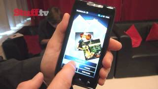 Motorola RAZR video preview