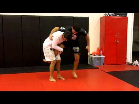 Jiu Jitsu Techniques - Single Leg Defense / Leg Lock With Clark Gracie and Ismael Mota Image 1