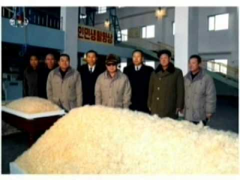 Kim Jong Il Inspects Feb. 8 Vinalon Complex
