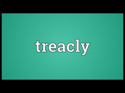 Header of treacly