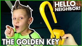 I Found the Golden Key / Hide and Seek / Hello Neighbor Alpha 3